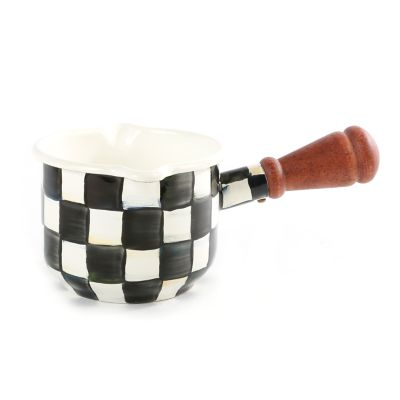 Courtly Check Enamel Butter Warmer