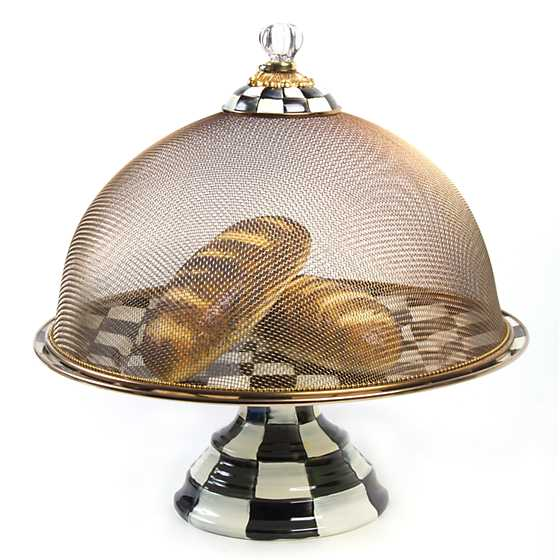 Courtly Check Mesh Dome - Large