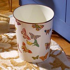 Butterfly Garden Enamelware