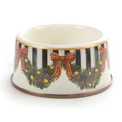 Evergreen Enamel Pet Dish - Medium
