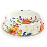 Flower Market Enamel Cat Dish