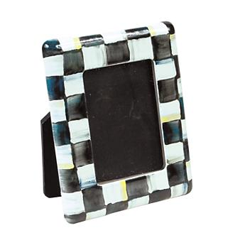 Courtly Check Enamel Mini Frame