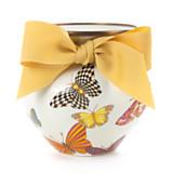 Butterfly Garden Vase - White