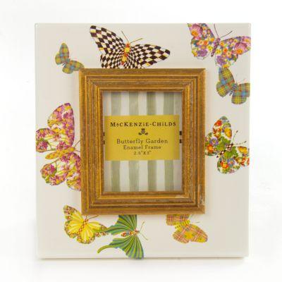 "Butterfly Garden 2.5"" x 3"" Frame - White"