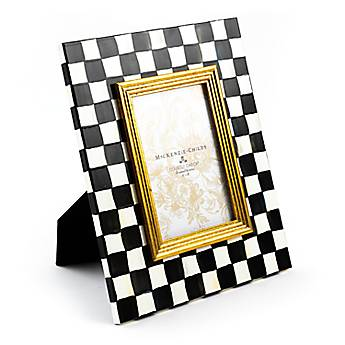 Courtly Check Enamel Frame - 4