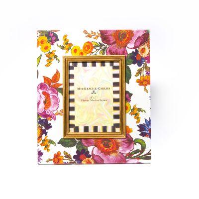 """Flower Market 5"""" x 7"""" Frame - White"""
