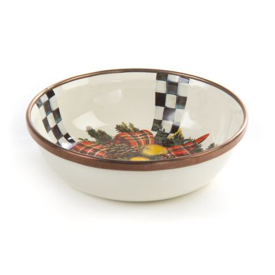 Evergreen Enamel Relish Dish