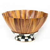 Courtly Check Fluted Salad Bowl