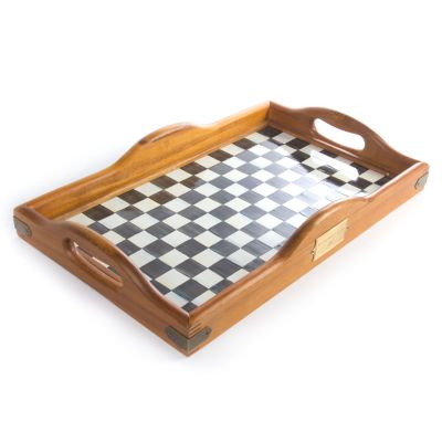 Courtly Check Hostess Tray - Large