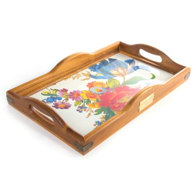 Flower Market Hostess Tray - Large