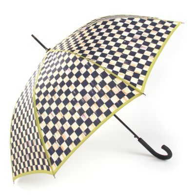Courtly Check Bumbershoot - Chartreuse Trim