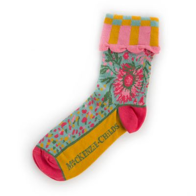 Alice's Garden Ankle Socks