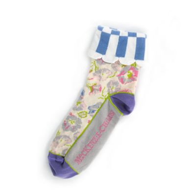 Morning Glory Ankle Socks