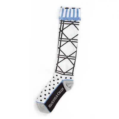 Trellis Knee Socks