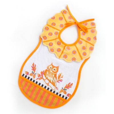 Toddler's Bib - Owl