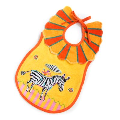 Toddler's Bib - Zebra