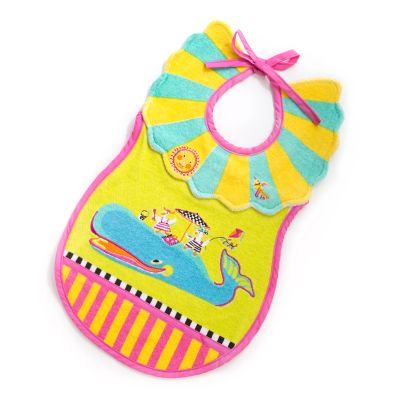 Toddler's Bib - Sun and Sea
