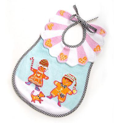 Toddler's Bib - Gingerbread
