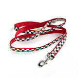 Courtly Check/Red Pet Lead - Large