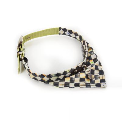Courtly Check Pet Scarf - Small