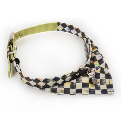 Courtly Check Pet Scarf - Large