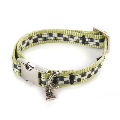 Courtly Check Couture Pet Collar - Small