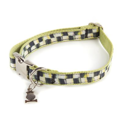 Courtly Check Couture Pet Collar - Medium