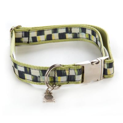 Courtly Check Couture Pet Collar - Large