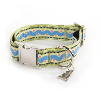 Squiggle & Dot Pet Collar - Small