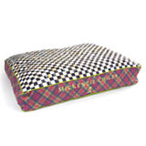 Tartan Check Pet Bed - Medium