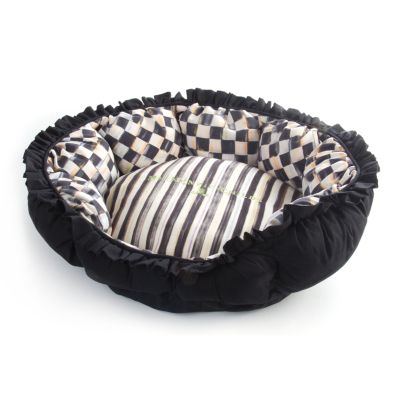 Courtly Check Pet Pouf - Small