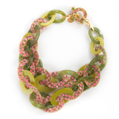 Tulip Liaison Bib Necklace