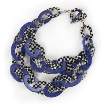 Lapis Liaison Bib Necklace