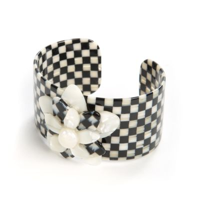 Courtly Check Blossom Cuff - Medium