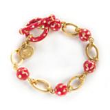 Charming Bracelet - Red - 7.5