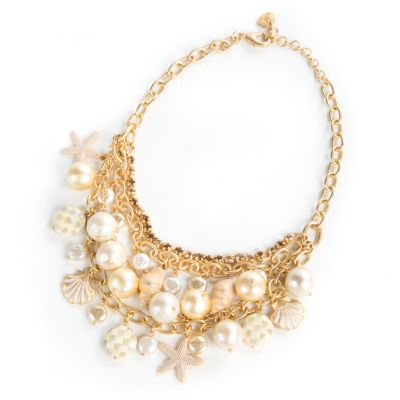 Palm Beach Bib Necklace