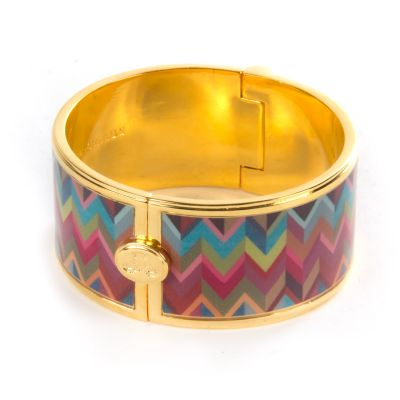 Kaleidoscope Bangle - Wide