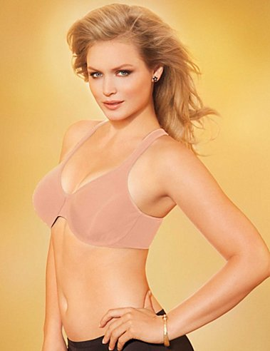 Lilyette Everyday Easy Unlined Multi-way Bra