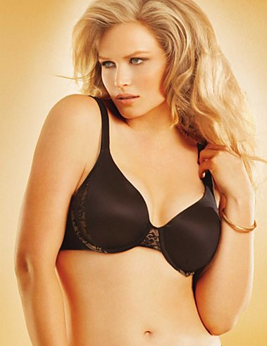 Lilyette Comfort Devotion Full Figure Contour Foam Underwire