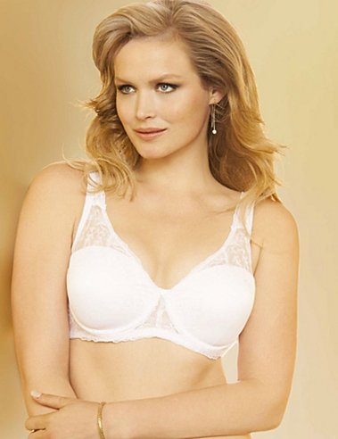 Lilyette Enchantment Embellished Balconette Bra