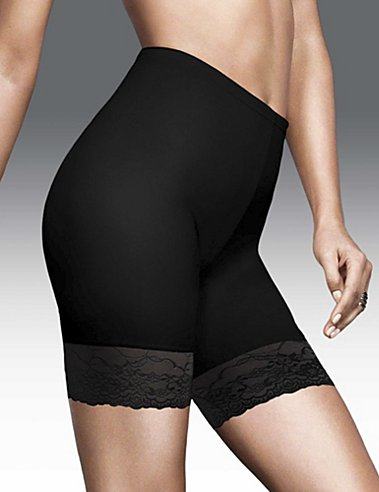 Flexees® Fat Free Dressing® Thigh Slimmer with Lace