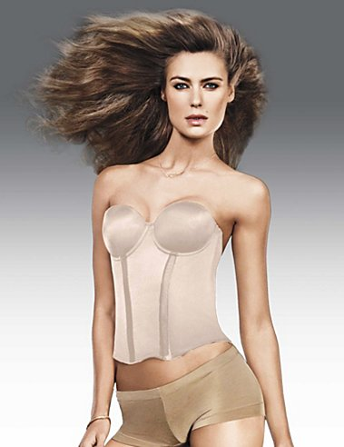 Flexees Easy-Up Bustier
