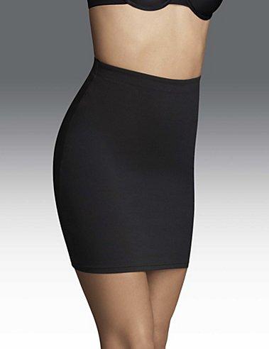 Flexees Fat Free Dressing Slip Skirt