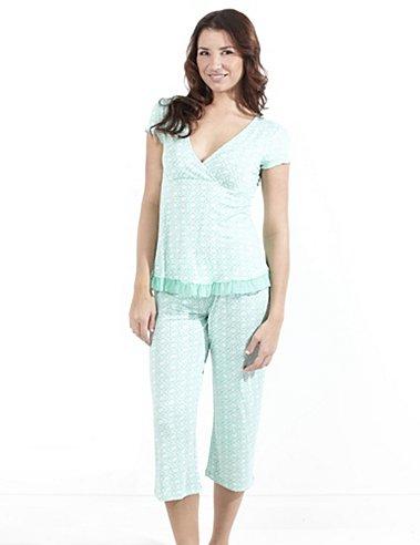 Maidenform Arianna Short Sleeve Pajama Set