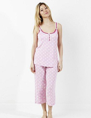 Maidenform Kadrian Crop Pajama Set