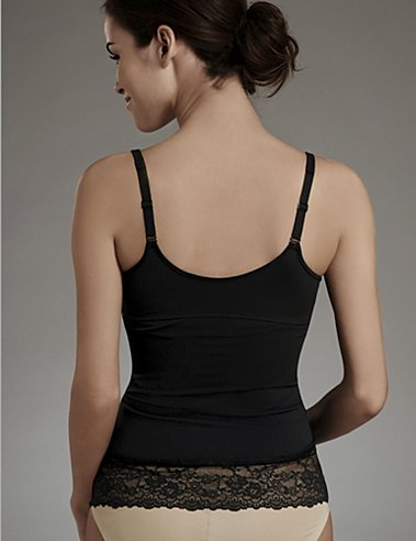 Flexees® Fat Free Dressing® Cami with Lace