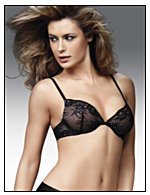 Maidenform® Enthralled Embellished Lace Plunge Push Up Bra