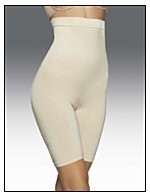 Control It!® Shiny Hi-Waist Thigh Slimmer