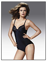 Flexees® Pretty Shapewear Embellished Unlined Body Briefer