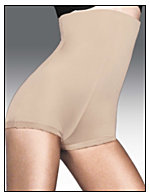 Flexees® No-Slip Edge Hi-Waist Boyshort